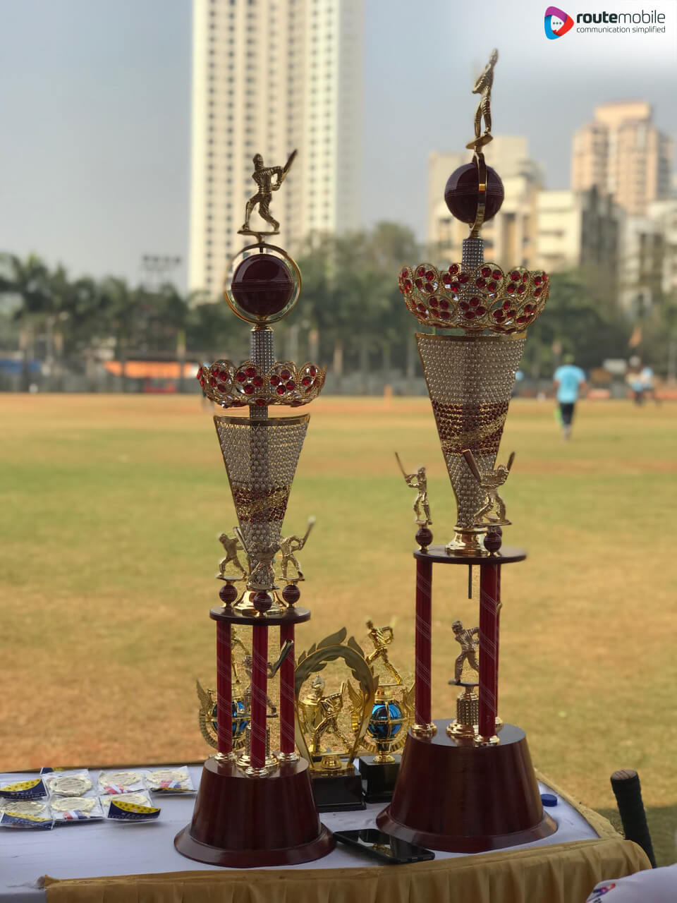 Route Mobile Premier League Trophies