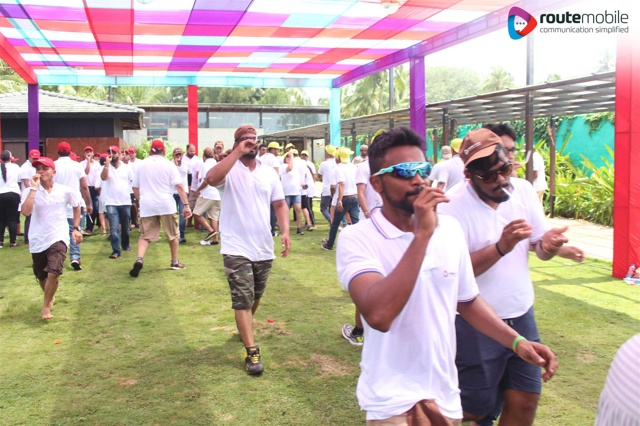 Team building activity Goa 2017